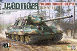 8003  1/35 JagdTiger Sd.Kfz.186 Porsche Production Type