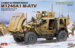 RM5032  1/35 US M1240A1 M-ATV (MRAP) w/Full Interior