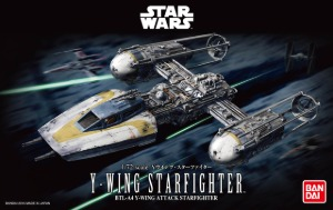 BAN196694  1/72 Star Wars Y-Wing Starfighter