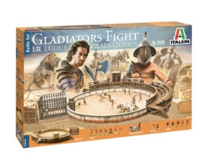 6196  1/72 Battle Set Gladiators Fight  Ludus Gladiators