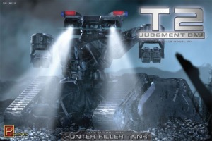 9015 1/32 Terminator 2 The Future War Hunter Killer Tank