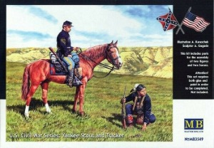MB3549 1/35 US Civil War Series: Yankee Scout and Tracker