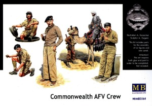 MB3564  1/35 British Troops in North Africa Commomwealth