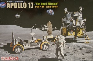 "11015 1/72 Apollo 17 ""The Last J-Mission"" - CSM + LM + Lunar Rover"