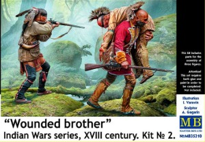 MB35210 1/35 Wounded brother. XVIII century. Kit No. 2