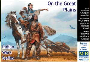 MB35189  1/35 Indian Wars Series : On the Great Plains