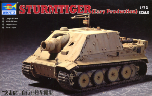 07274  1/72 Sturmtiger Eary Production