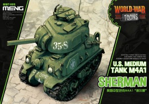 WWT-002 M4A1 Sherman - Cartoon Model