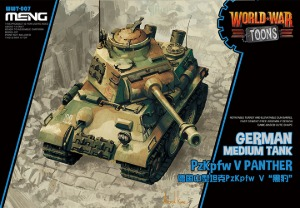 WWT-007 German Med Tank PzKpfw V Panther - Cartoon Model