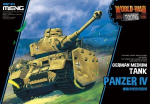 WWT-013 German Medium Tank Panzer IV - Cartoon Model