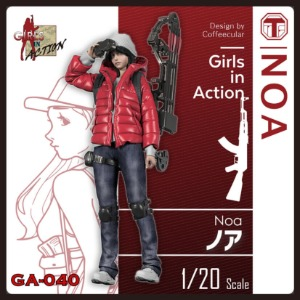 GA040  1/20 Girls In Action Noa
