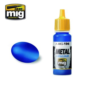 [17ml]CG0196 WARHEAD METALLIC BLUE  워헤드 메탈릭 블루