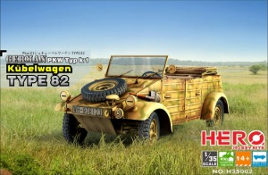 H35002 1/35 German Kubelwagen Type 82