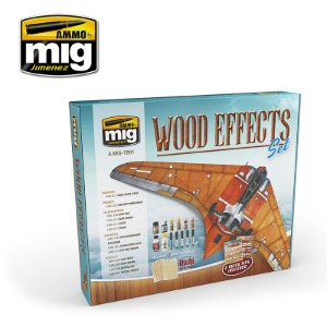 CG7801 WOOD EFFECTS SET