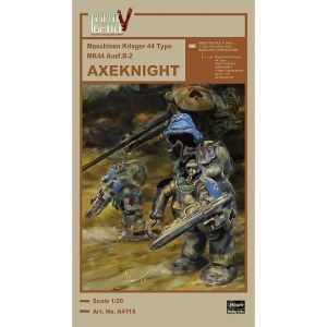 64118 1/20 Robot Battle Maschinen Krieger V44 Type MK44 Ausf.B-2 AXEKNIGHT