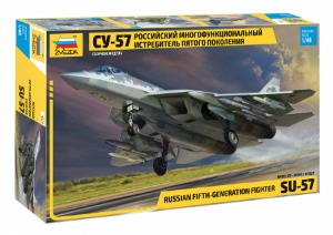 4824 1/48 SU-57 Russian fifth-generation fighter