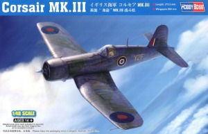 80396  1/48 Royal Navy F4U Corsair Mk.3